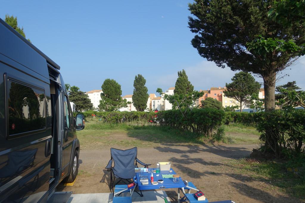 """Cap d'Agde - Campingplatz """"La Clape"""""""