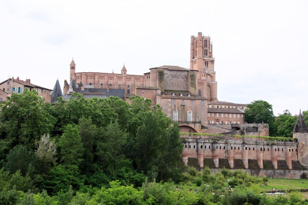 Albi - Kathedrale Sainte-Cécile mit dem Palais de la Berbie