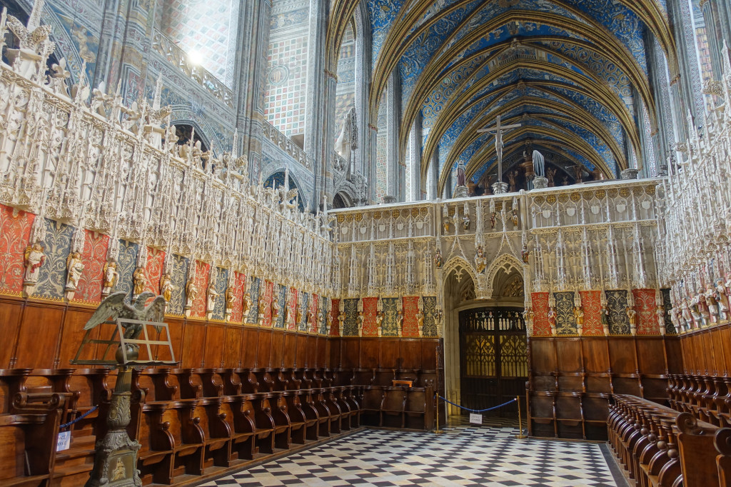 Albi - Kathedrale Sainte-Cécile - Chor