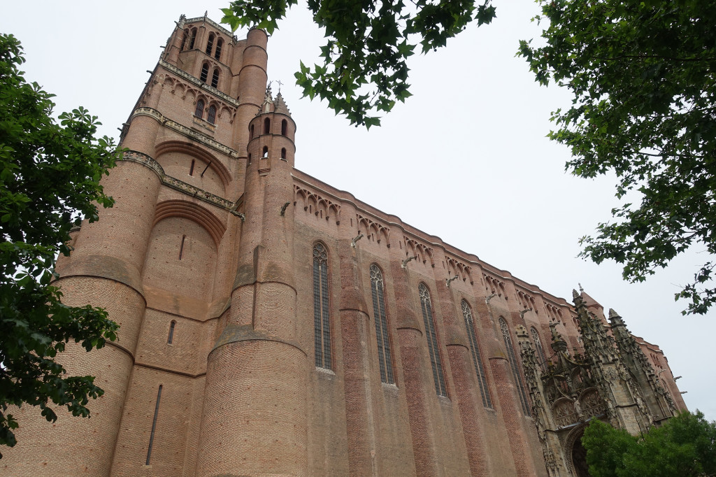 Albi - die Kathedrale Sainte-Cécile
