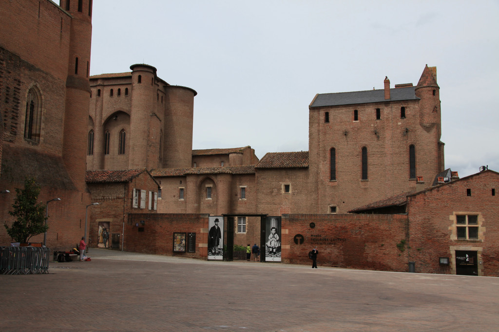 Das Musée Toulouse-Lautrec im Palais de la Berbie