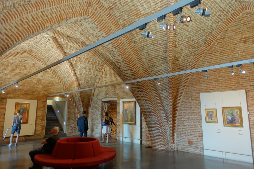Im Musée Toulouse-Lautrec