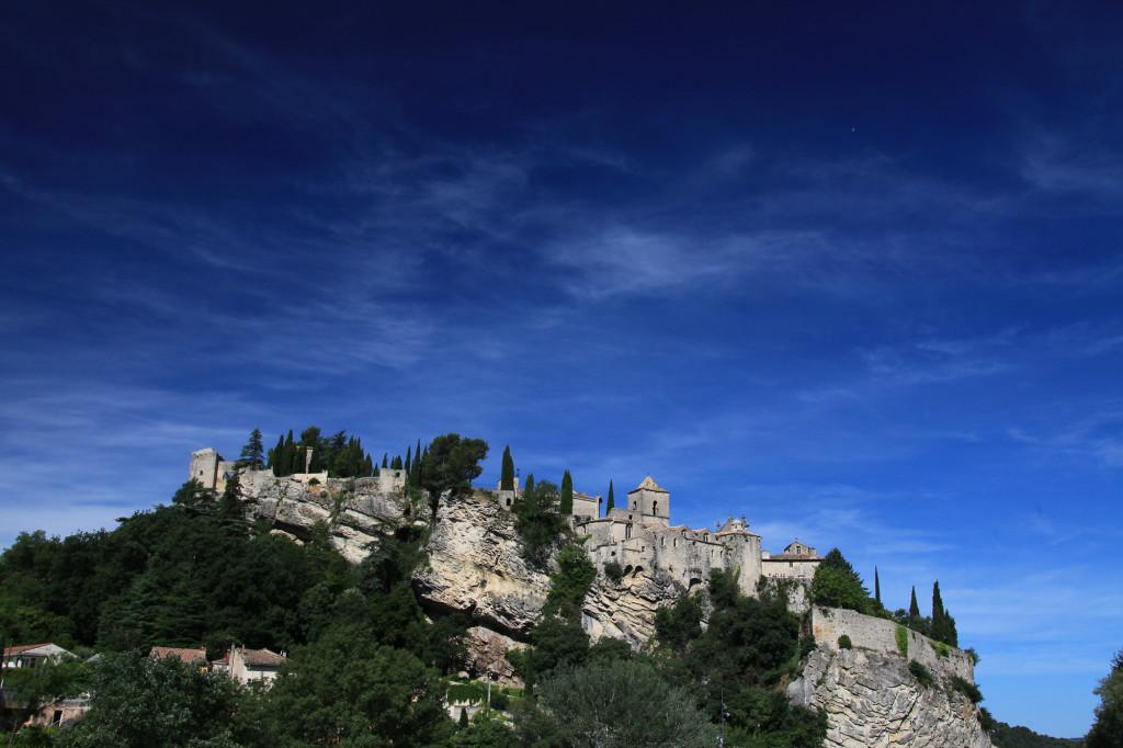 Vaison-la-Romaine - Blick auf die Oberstadt
