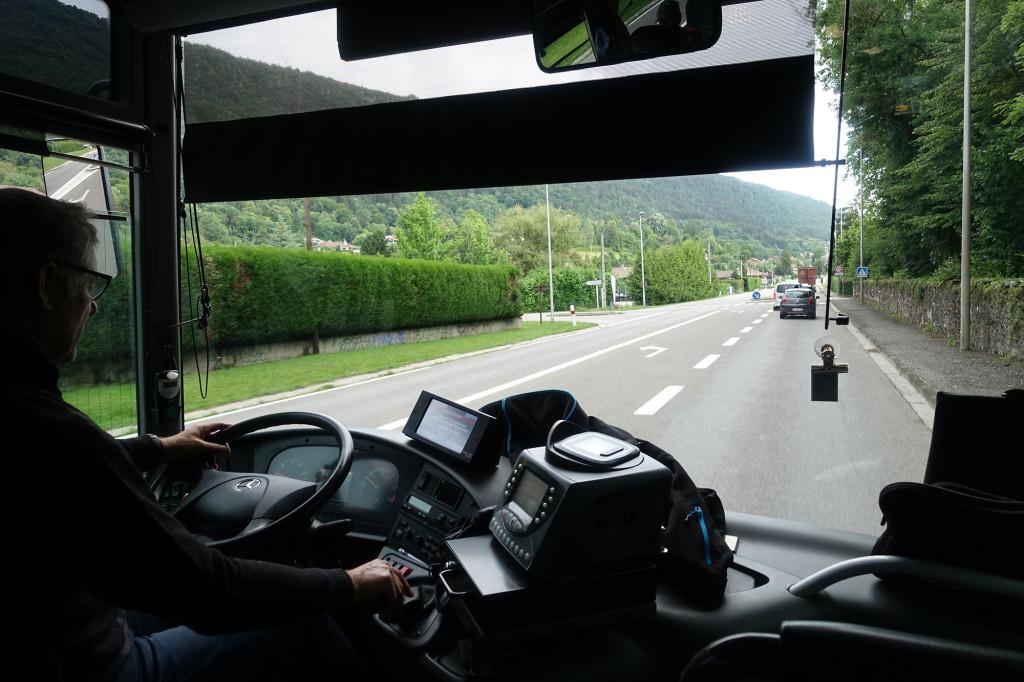 Hinein nach Annecy - unterwegs mit dem großen Mobil