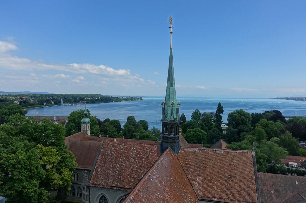 Konstanz - Blick vom Münsterturm