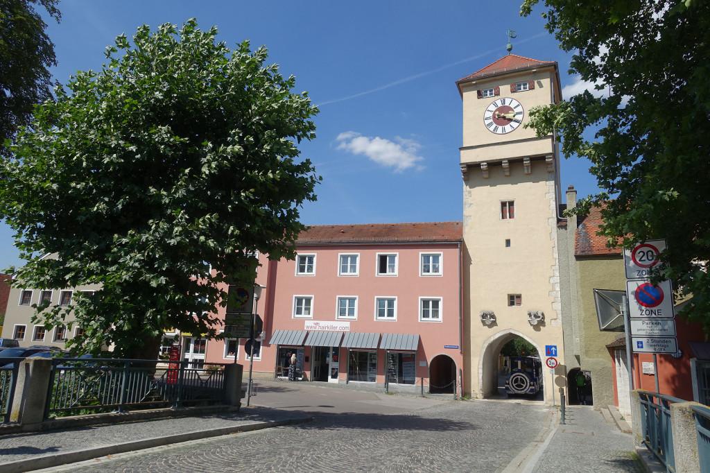 Donau-Tor der ehemaligen Stadtmauer