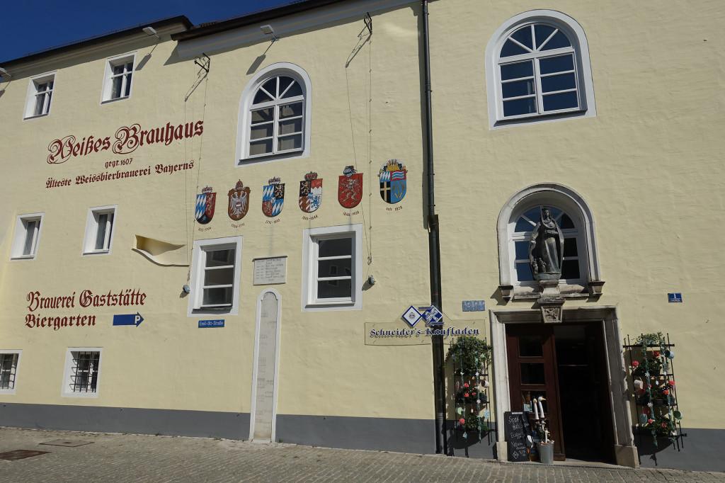 """Aus dieser Brauerei stammt die bekannte """"Schneider-Weiße"""""""