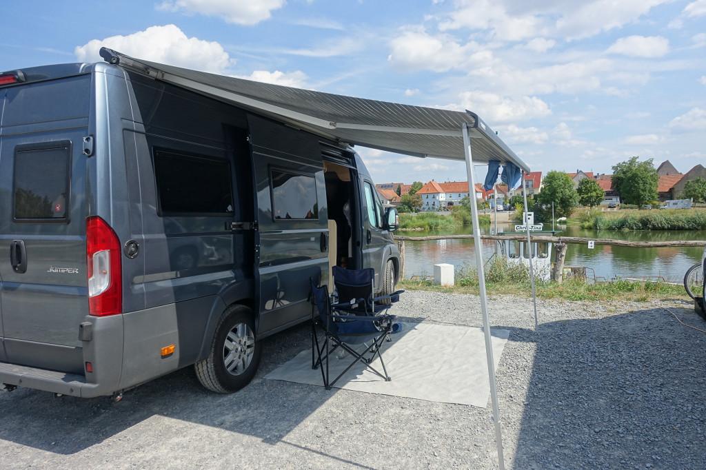 DSC05605 Womo-Tour Aug 2018 - Mainstockheim - Womo