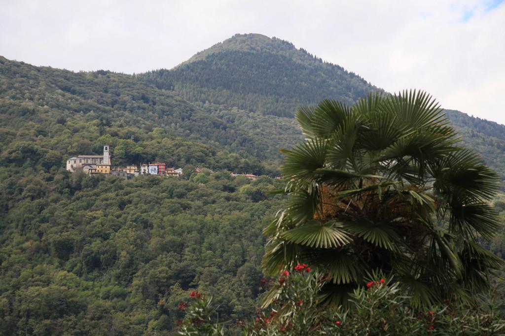 Blick vom Campingplatz auf Sant' Agata
