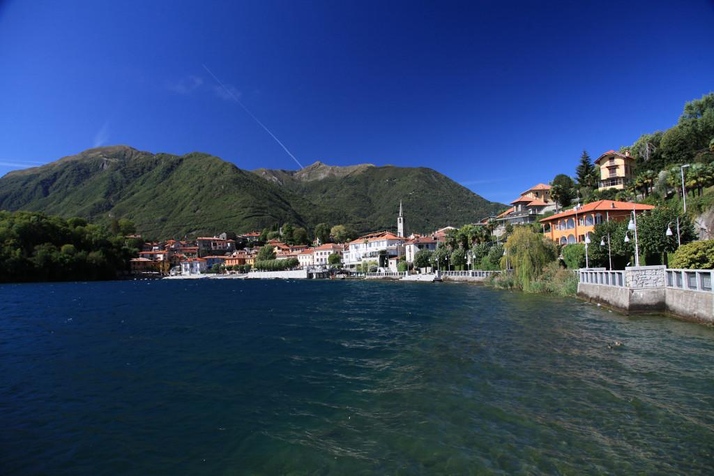 Der Ort Mergozzo am gleichnamigen See