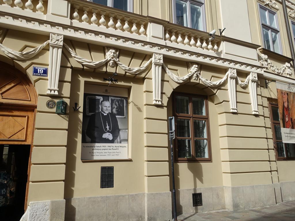 Hier lebte Papst Johannes Paul II von 1951 bis 1967