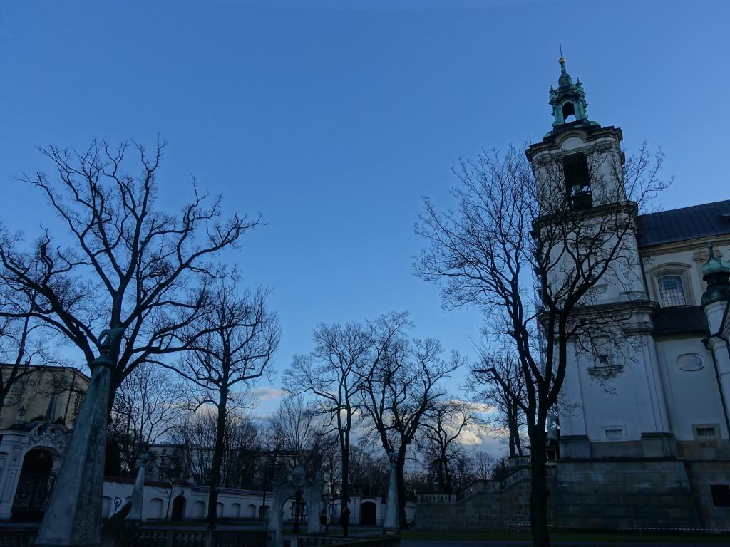 Pauliner Kirche auf dem Felsen