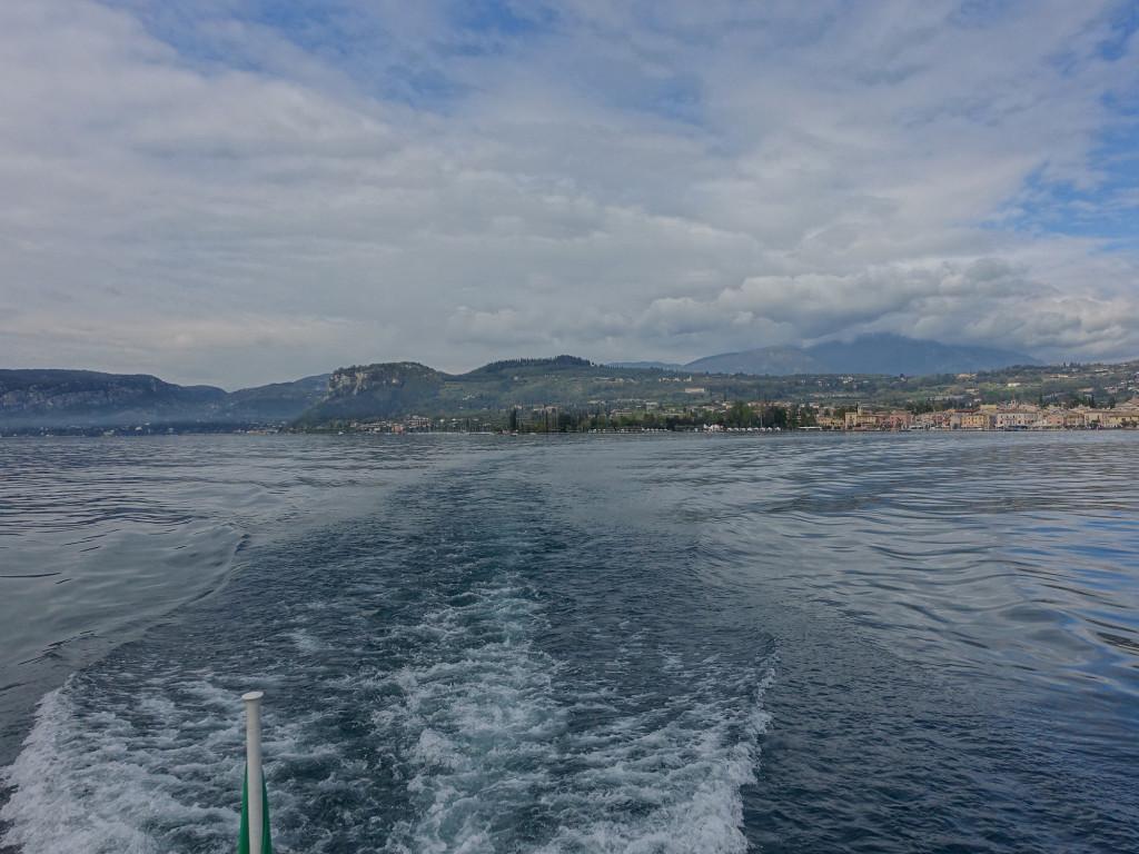 Blick zurück nach Bardolino