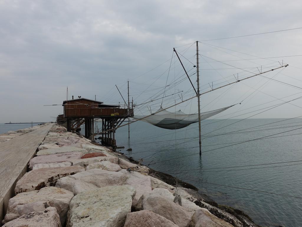 Sottomarina - Fischfanganlagen