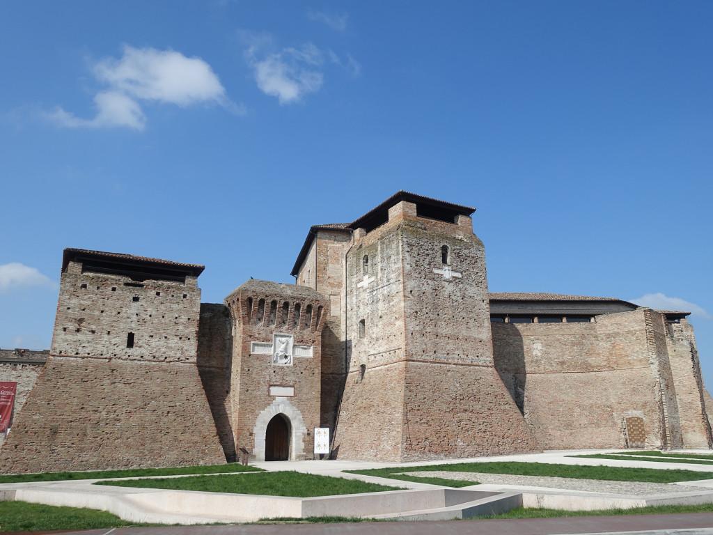 Rimini - die Malatesta-Burg Castel Sismondo