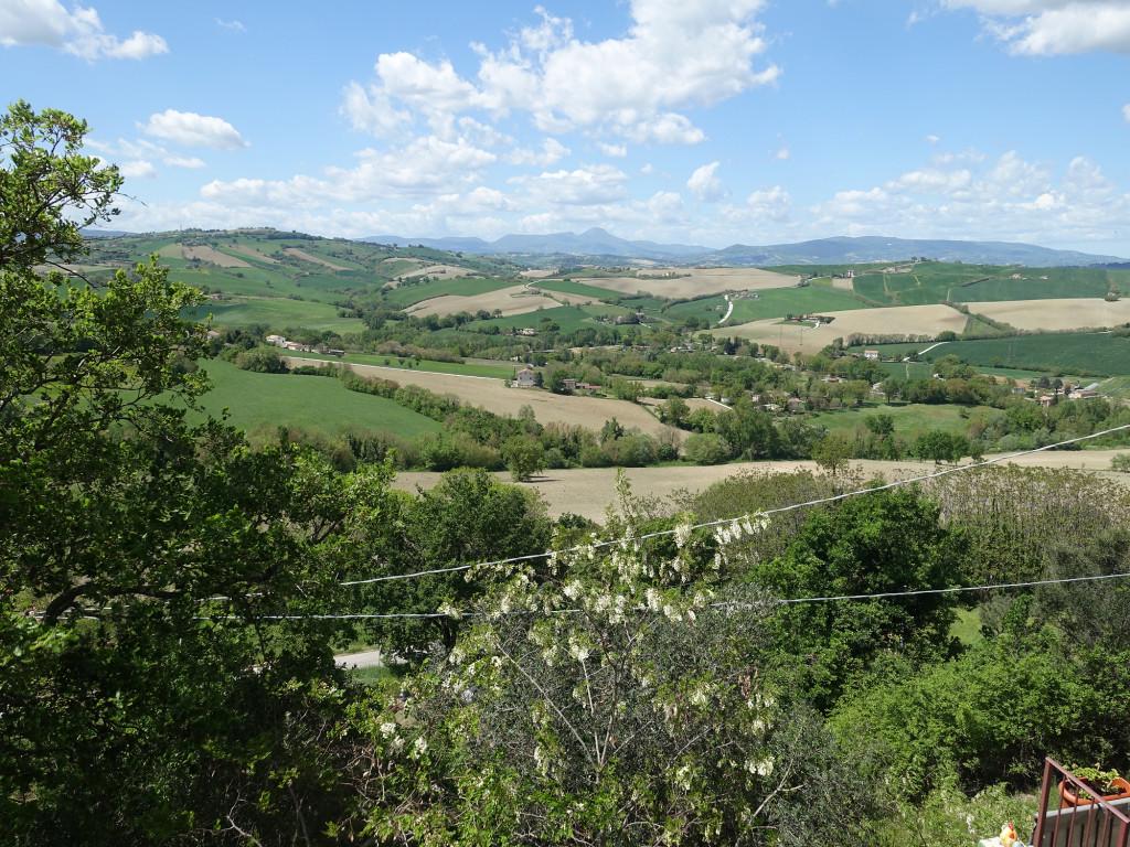 Urbisaglia - Blick in die Landschaft