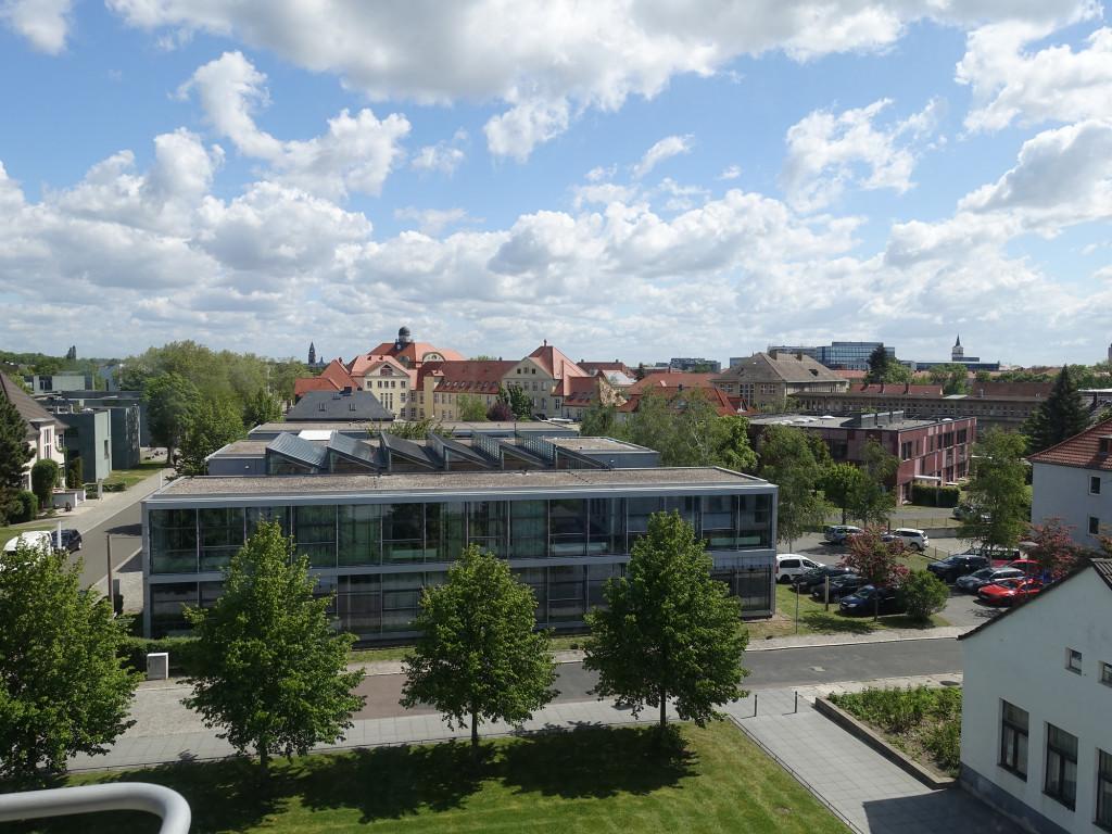 """Dessau - Bauhaus - Blick aus einer """"Studentenbude"""""""