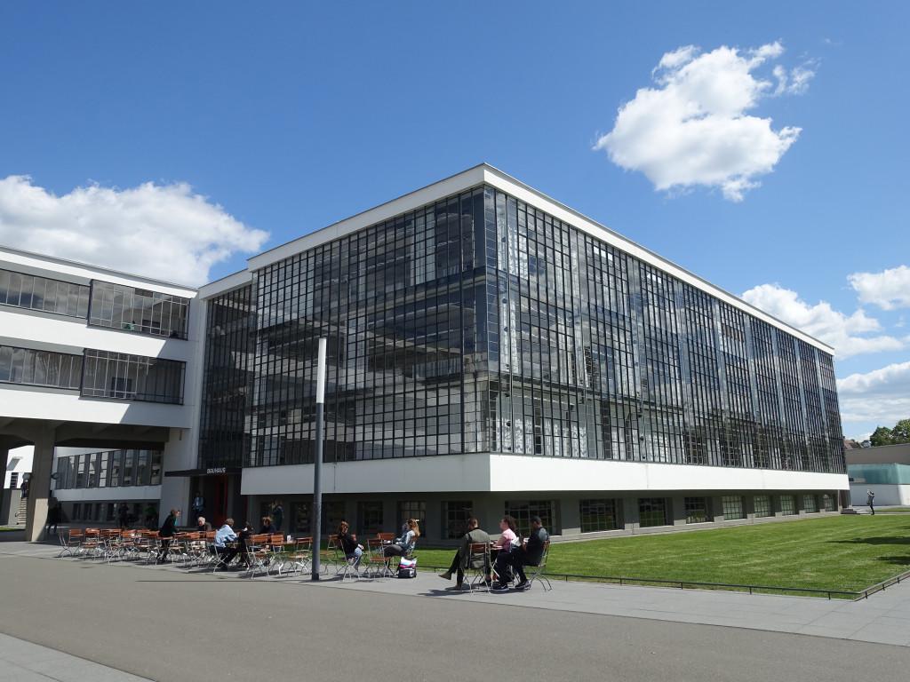 Dessau - Bauhaus - nochmal der Werkstättentrakt