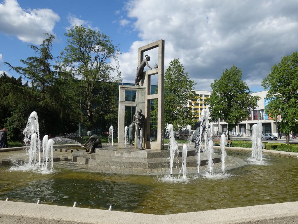 "Springbrunnen ""Stadtgespräch"""