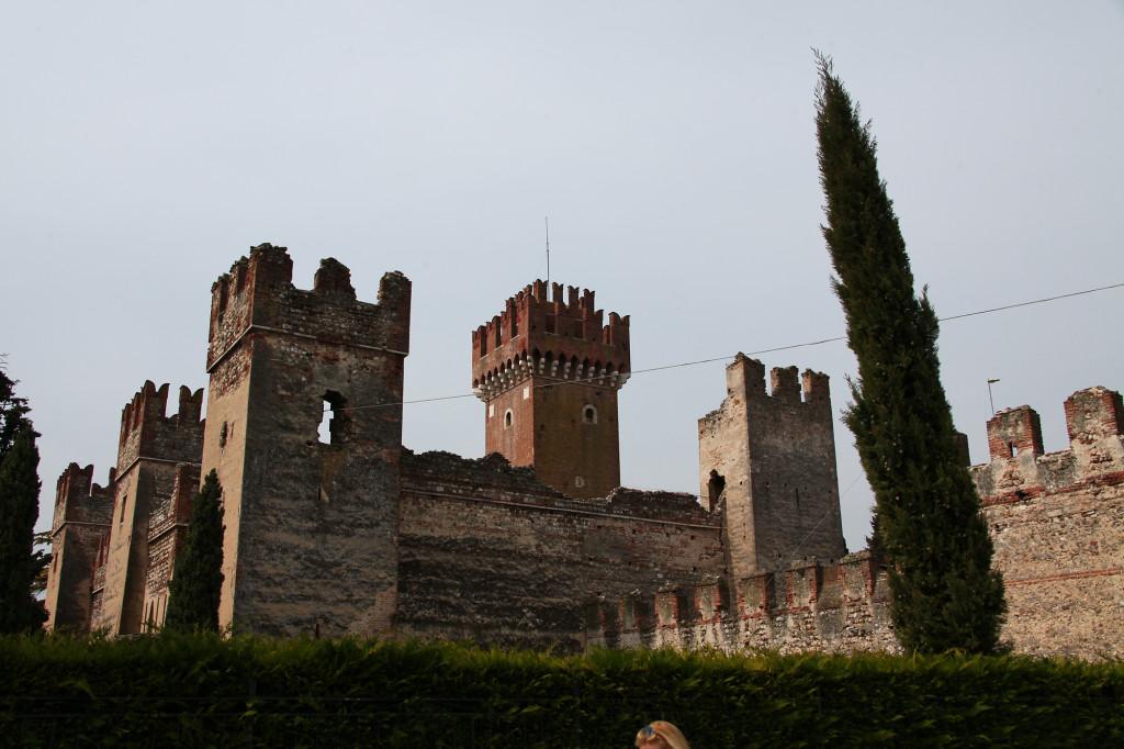 Lazise - die Burg der Scaliger