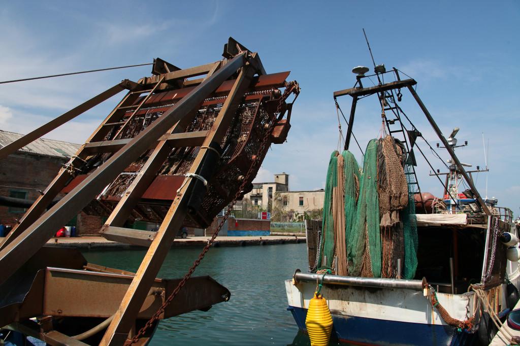 Chioggia - Muschelfischer