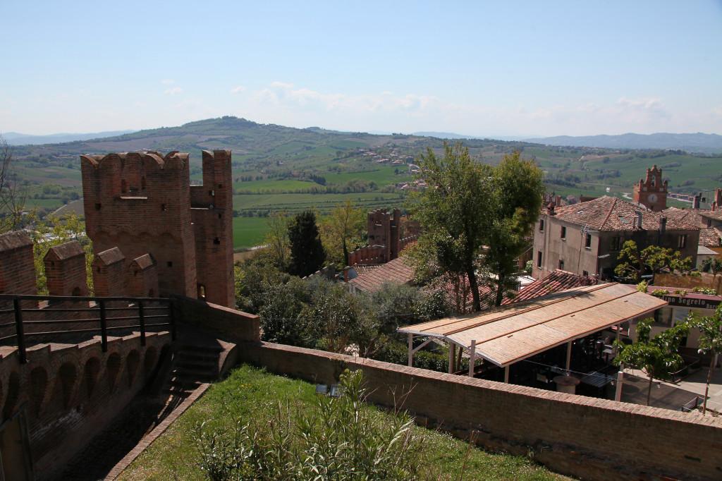 Gradara - Blick  von der Festung