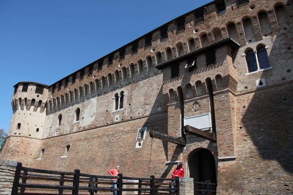 Gradara - Eingang der Festung