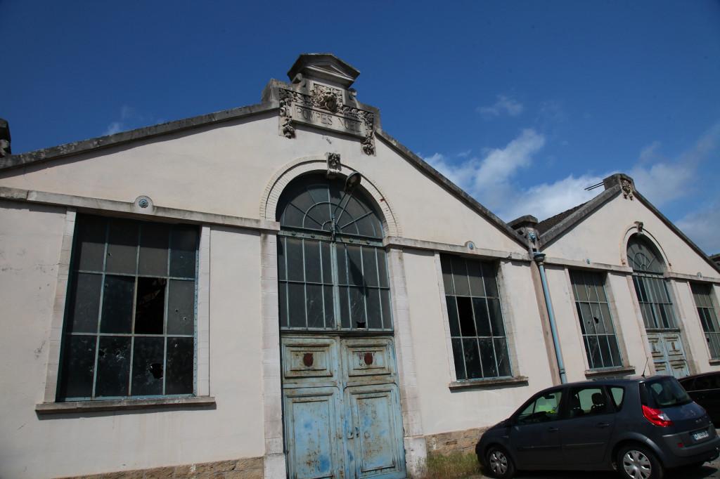 Liverdun - das 1892 errichtete Gebäude der  ehemaligen Fabrik zur Herstellung von Pumpen