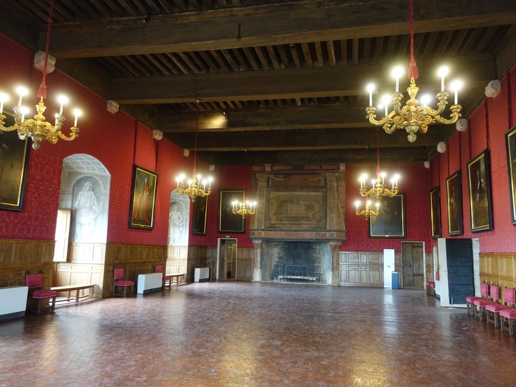 Schloss Sully-sur-Loire - der Große Saal