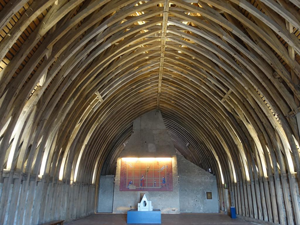 Sully-sur-Loire - der Dachstuhl des Donjon