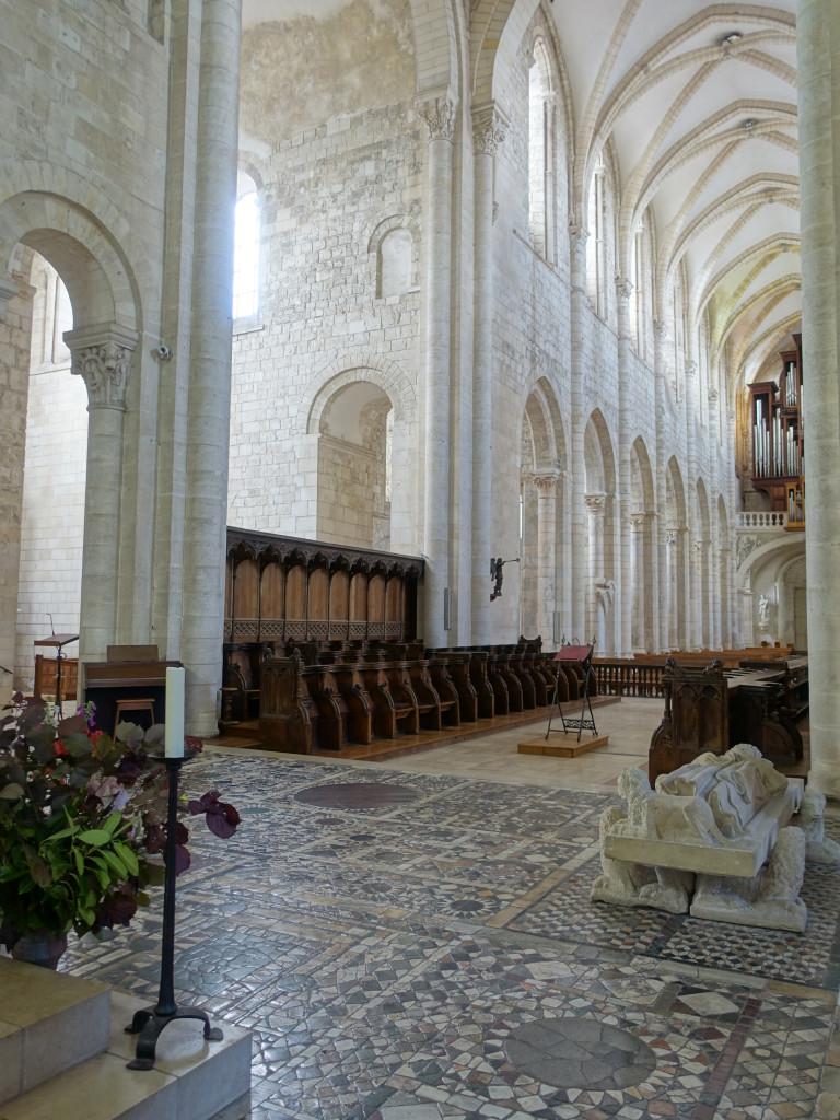 Saint-Benoît-sur-Loire - in der Kirche Fleury