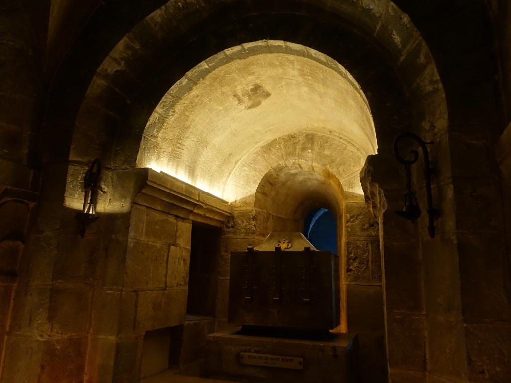 Saint-Benoît-sur-Loire - in der Kirche Fleury - hier ruhen die Gebeine des Heiligen Benedikt