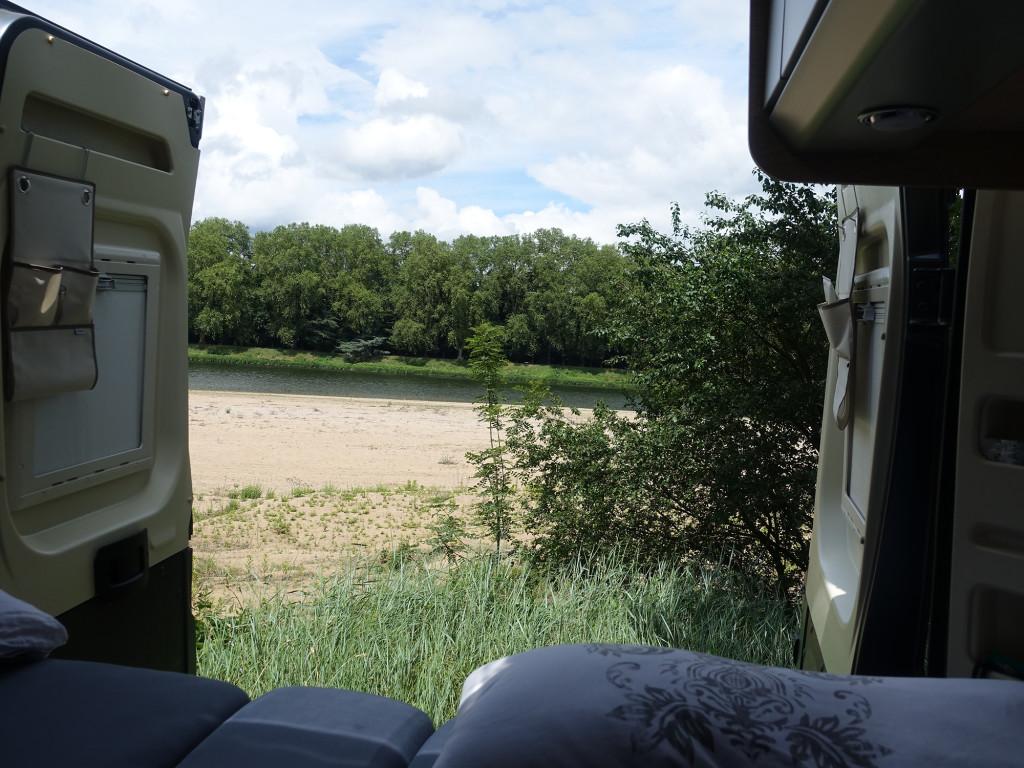 Chateauneuf-sur-Loire - Campingplatz - Kastenwagen-Glücksmomente