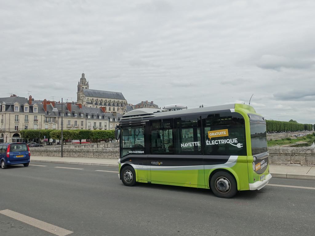 Blois - der elektrisch betriebene Kleinbus