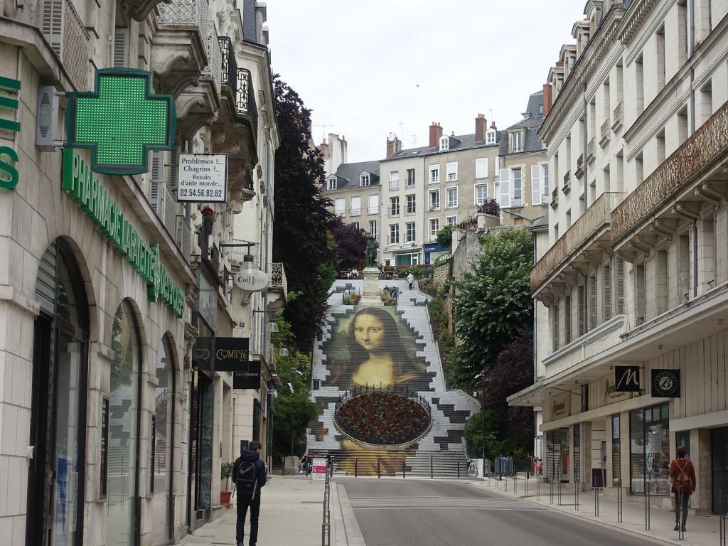 Mona Lisa zu Besuch in Blois