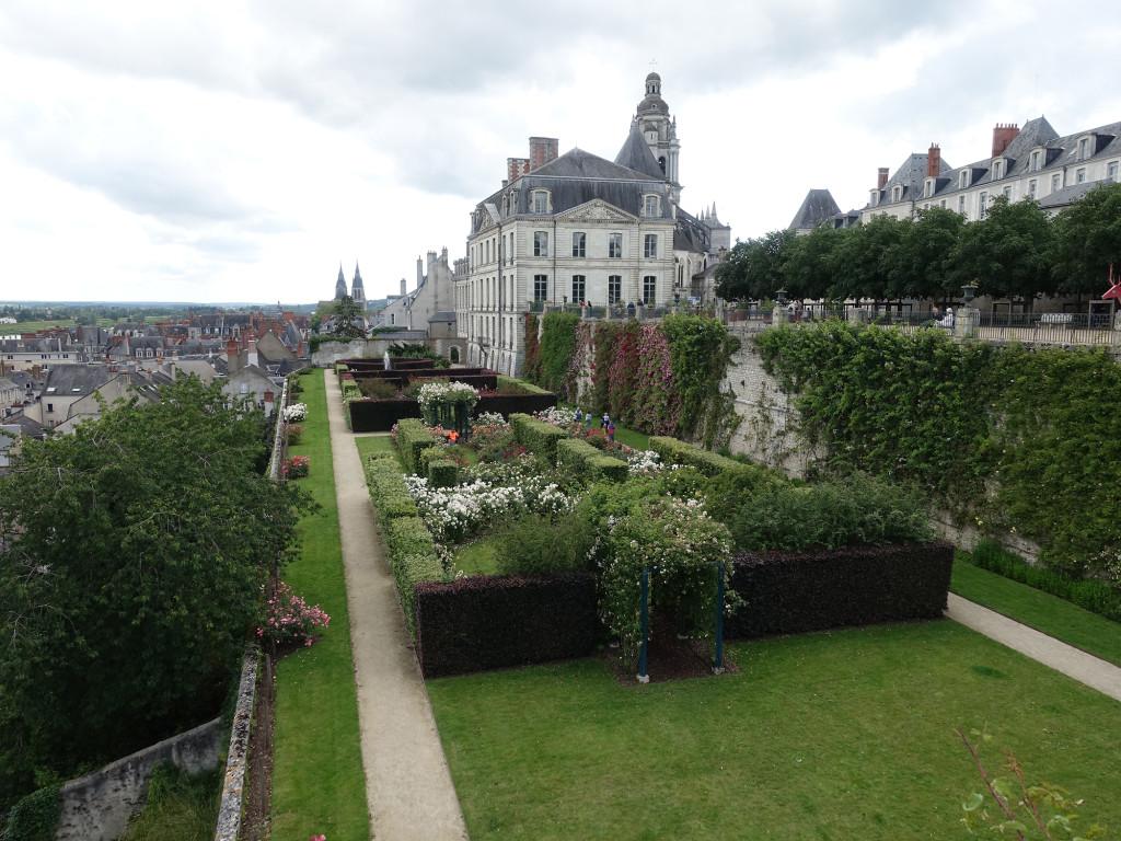 Blois - im Park des ehemaligen Bischofssitzes