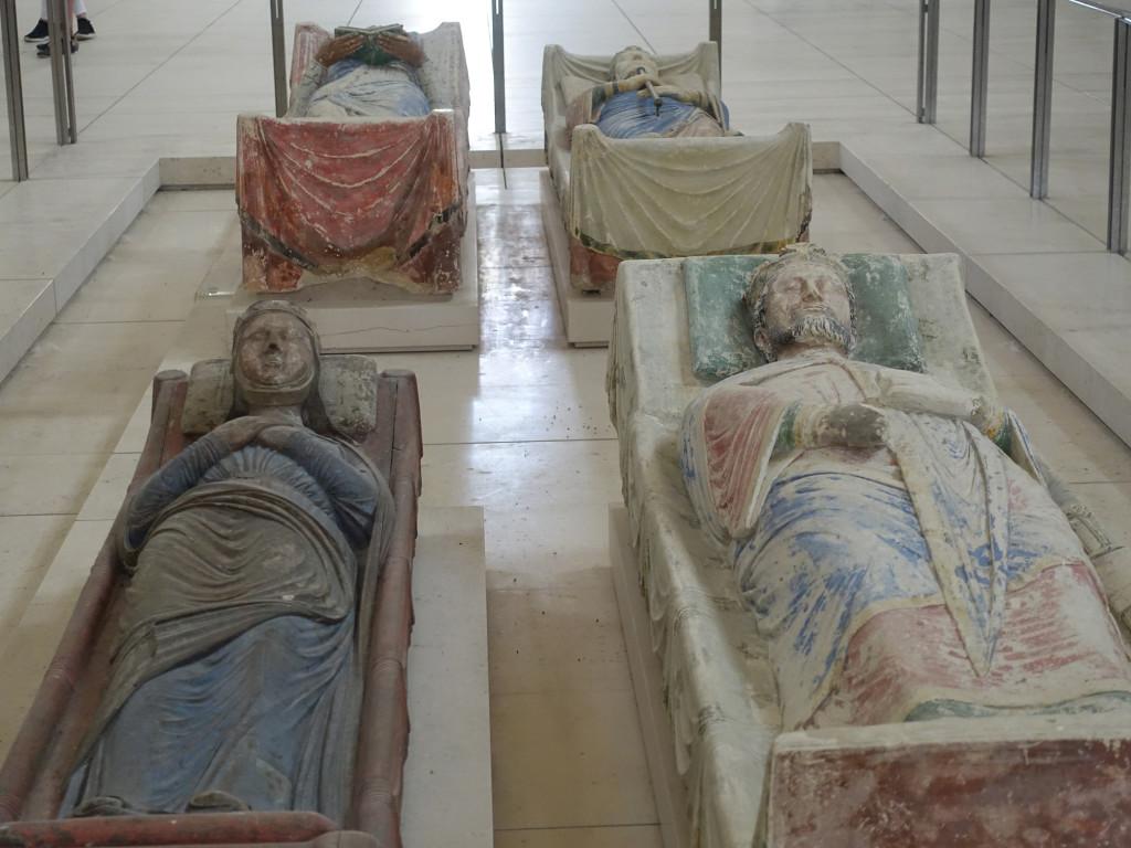 Abteil Fontevraud - die Grabplastiken