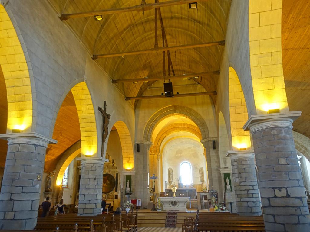 Noirmoutier - Kirche Saint Philibert aus dem 12. Jhdt.
