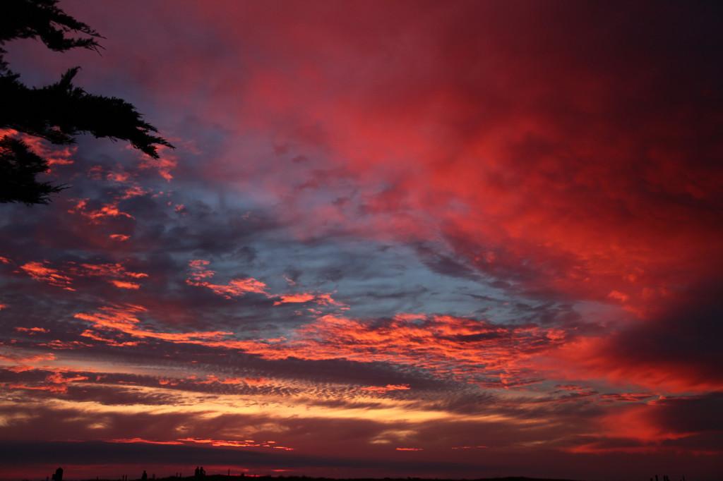 Wieder einer dieser kitschigen Sonnenuntergänge :-)