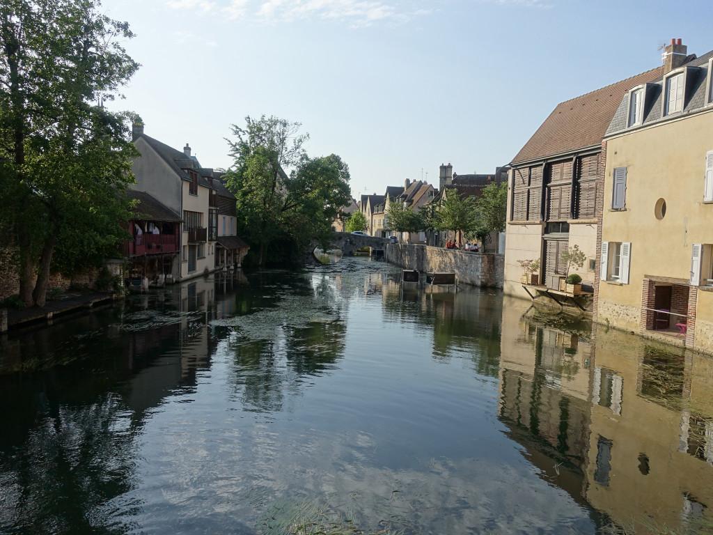 Chartres - am Fluss Eure