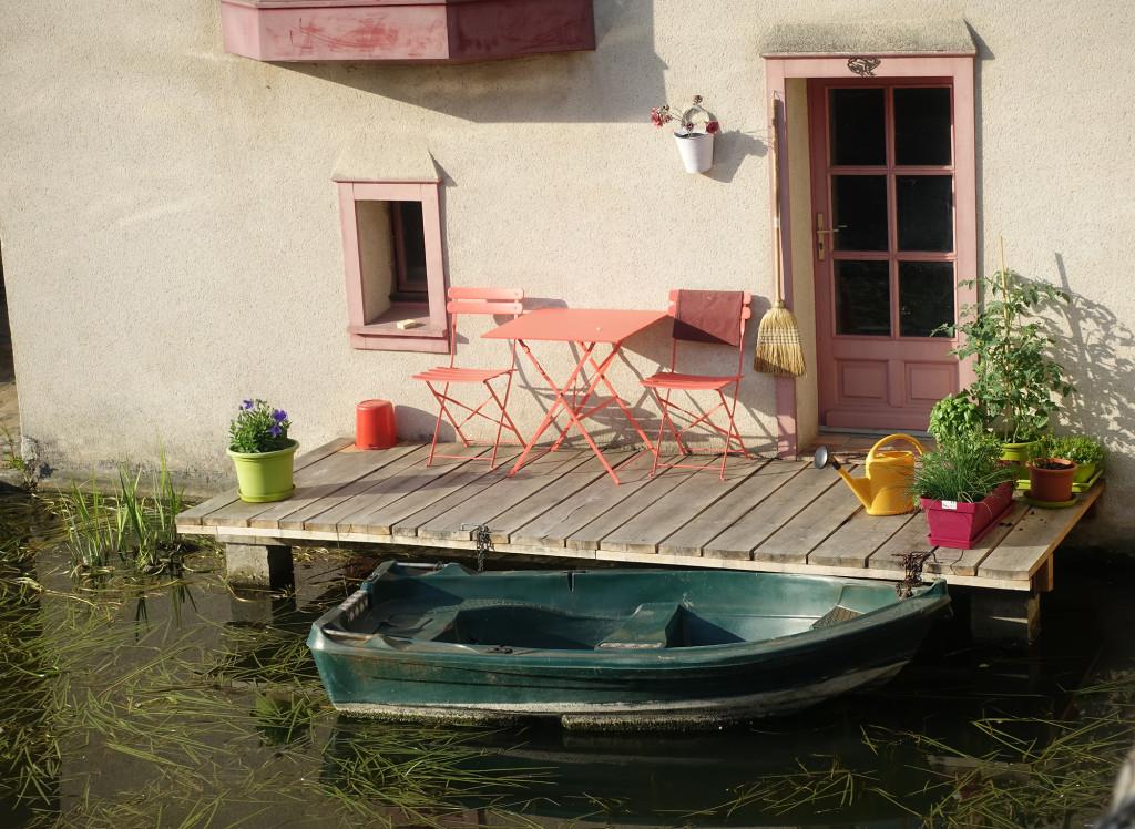 Chartres - Idylle am Fluss Eure