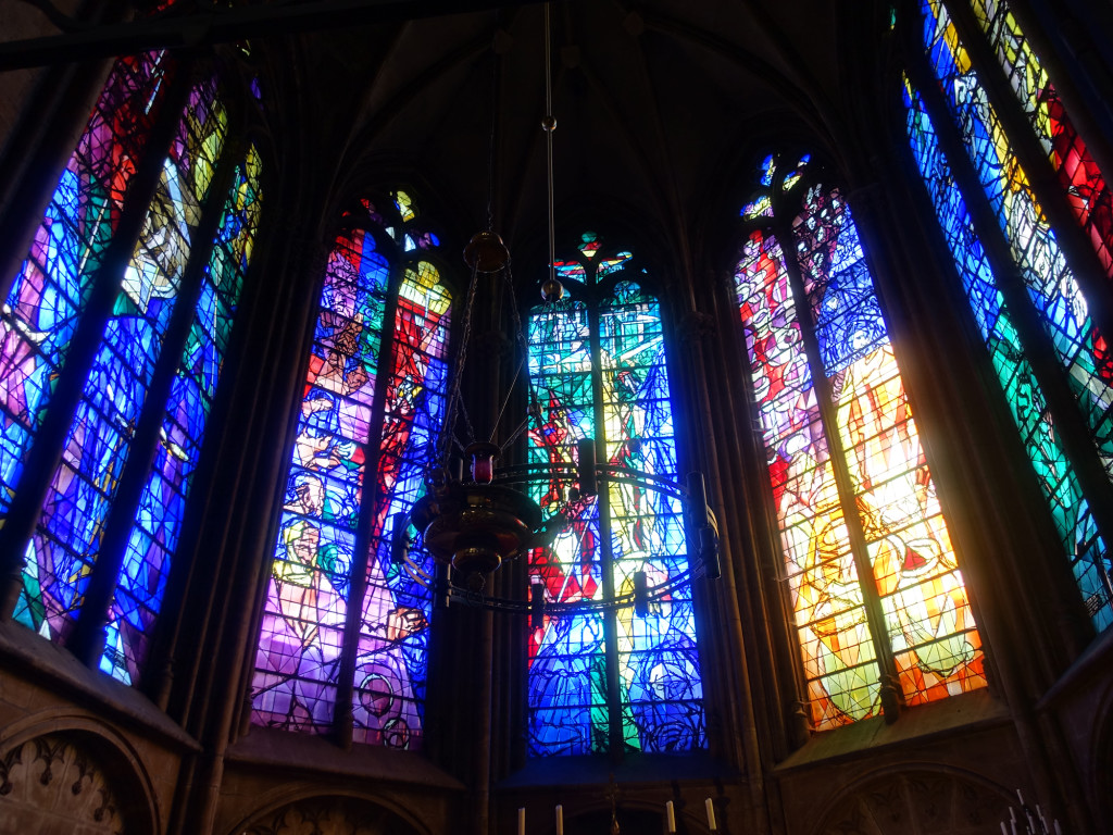 Metz - Kathedrale - Chagall-Fenster