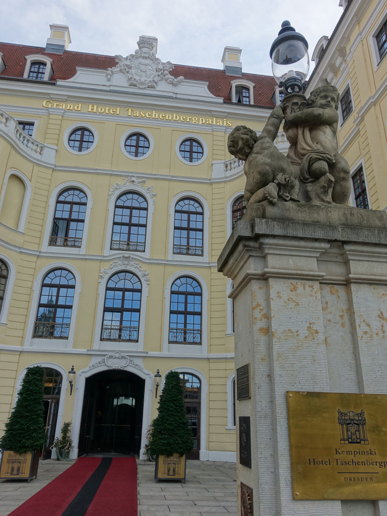 Hotel Taschenbergpalais - Ankunft