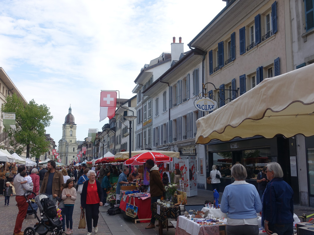 Morges - Markttag