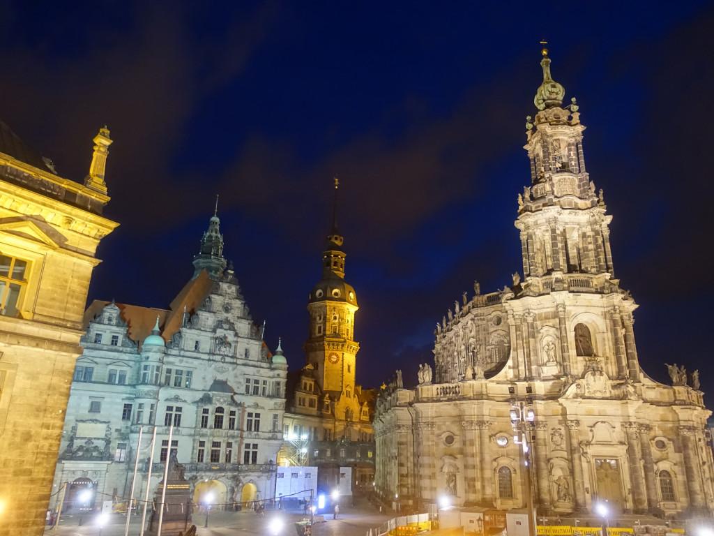 Das nächtliche Dresden ist bezaubernd