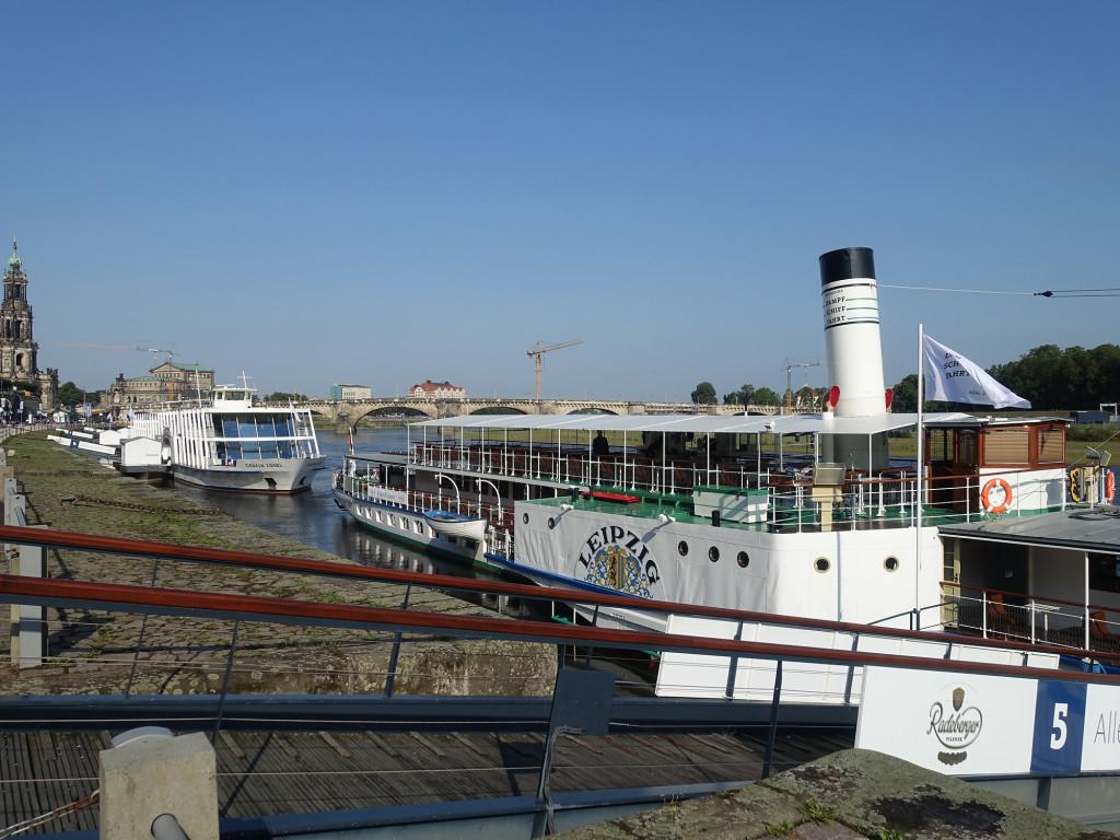 """Unser Schiff, die 90 Jahre alte """"Leipzig"""""""