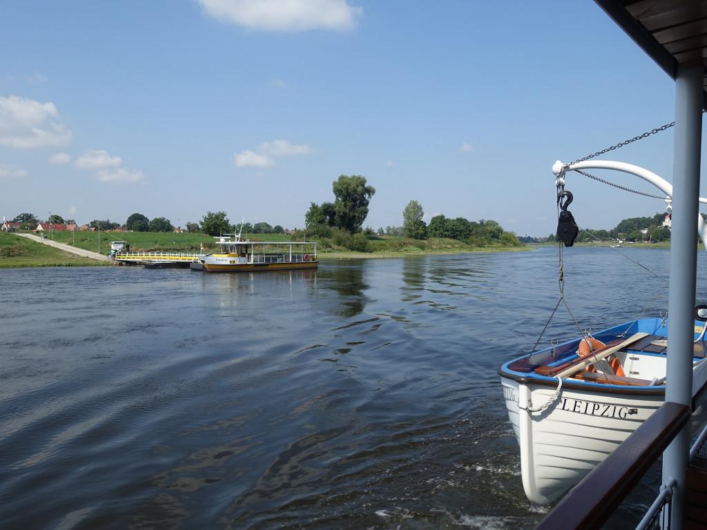 Unterwegs auf der Elbe