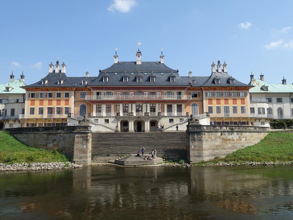 Angekommen an Schloss Pillnitz