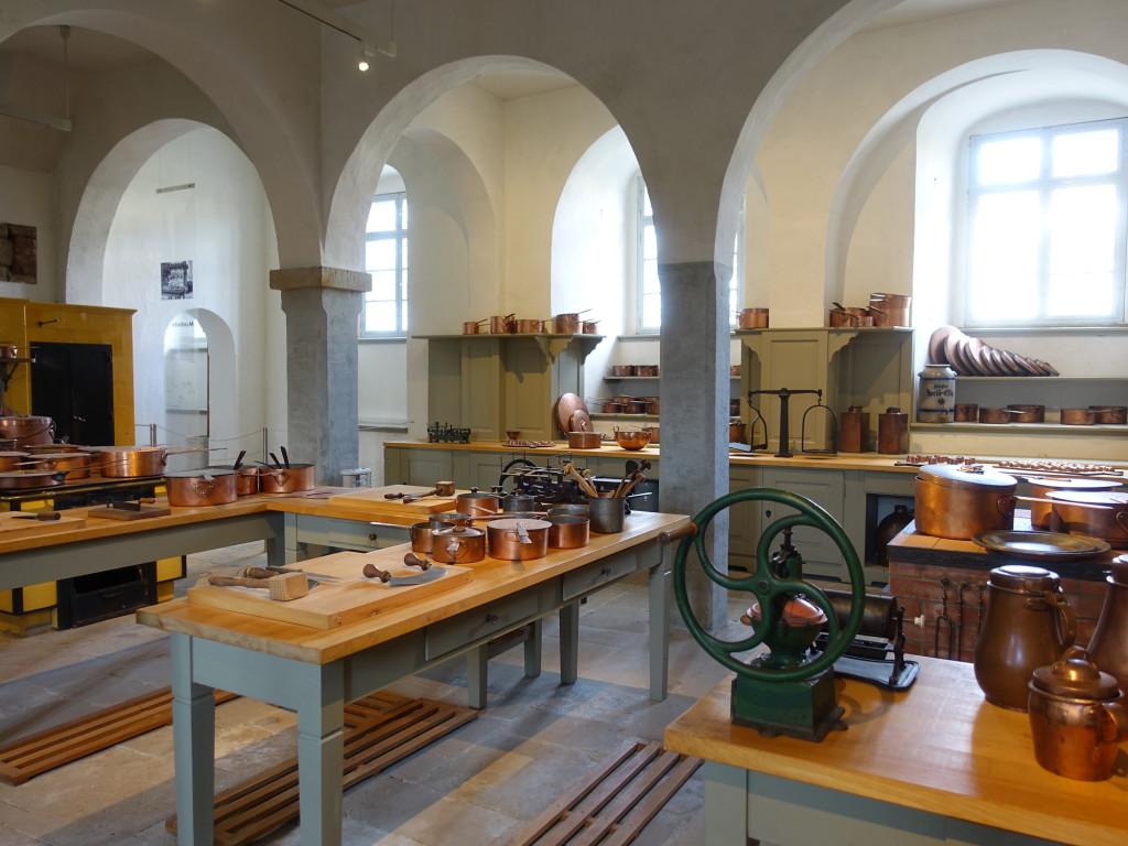 Schloss Pillnitz - die Schlossküche