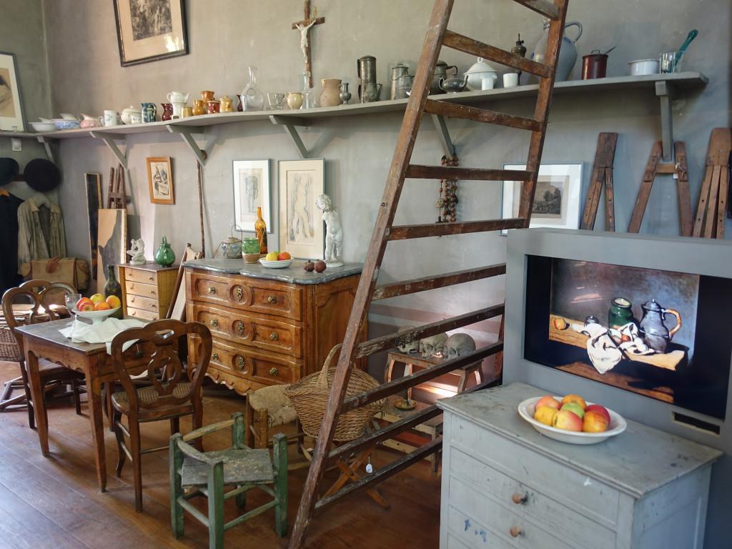 Atelier von Paul Cézanne